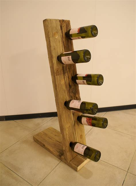 porta bottiglie portabottiglie in legno di recupero mobili lapi shop