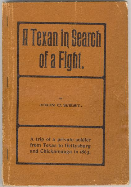 a texan in search of a fight being the diary and letters of a soldier in s brigade classic reprint books dorothy sloan books auction 22