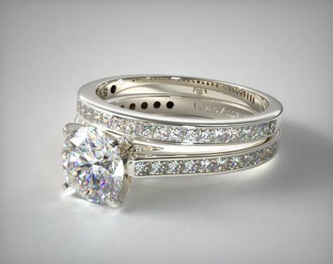 1110614053w channel set princess cut engagement ring and