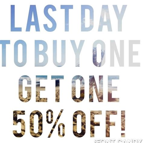 Buy One Get One 50 accessories buy one get one half from mara