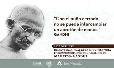 Gandhi Memes - conapred noticia 2 octubre aniversario del nacimiento
