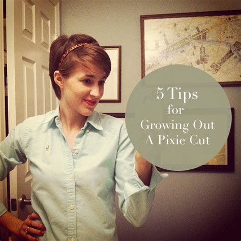 how to style your hair while a pixie grows out growing out a pixie cut pictures short hairstyle 2013