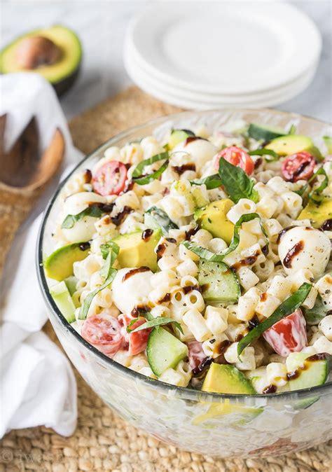 recipe of the week summer pasta salad fundcraft southern summer pasta salad recipe favesouthernrecipes com