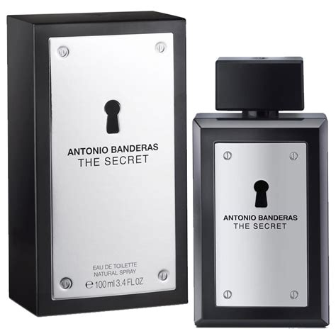 Parfum Original Antonio Banderas Secret 100 Original antonio banderas the secret edt spray 100ml ascot cosmetics