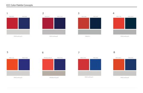 two colour combination clackamas community college logo redesign survey