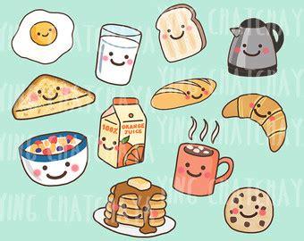 Breakfast Clipart Etsy Fr