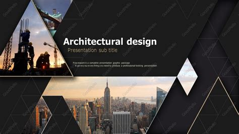 Architecture Powerpoint Template Wide Goodpello Architecture Powerpoint Templates