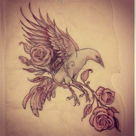 bird and rose tattoo 139 best images about tatoo projects on