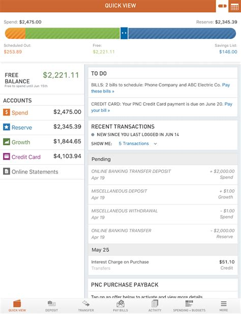 pnc bank mobile app vs online banking virtual wallet by pnc android apps on google play