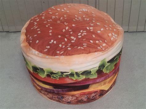 hamburger bean bag promotional products rent a burger burger web