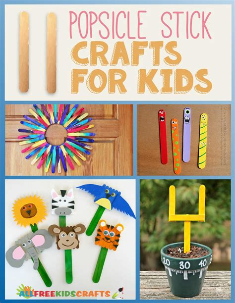 stick crafts for 11 popsicle stick crafts for allfreekidscrafts