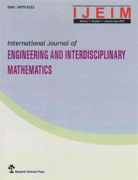 Scope Of Mba After Chemical Engineering by International Journal Of Engineering And Interdisciplinary