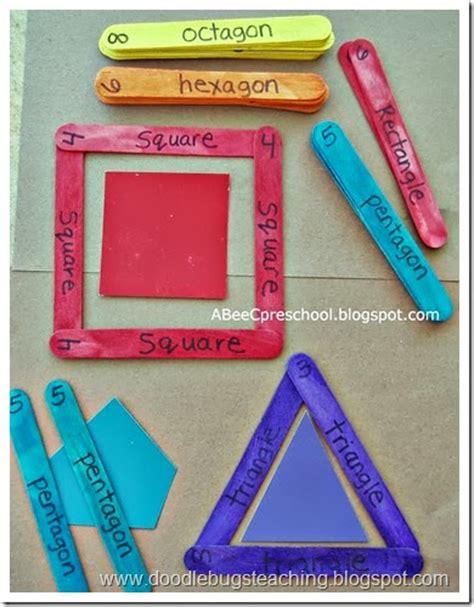 build a house math shapes game colors shapes 23 atividades com palitos de picol 233 na educa 231 227 o infantil
