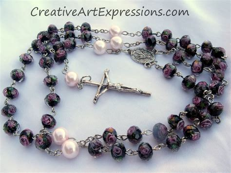 Handmade Rosaries From Roses - rosaries creative expressions