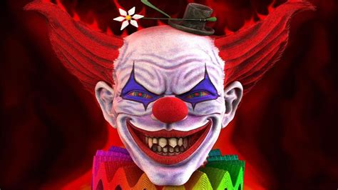 theme park owned by a television clown on the simpsons creepy clown music evil clowns youtube
