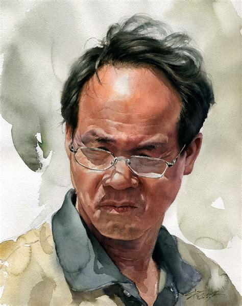 artistry of men art of watercolors portraits figures on pinterest