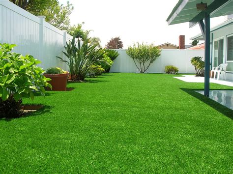 backyard grass custom artificial turf installation in san luis obispo