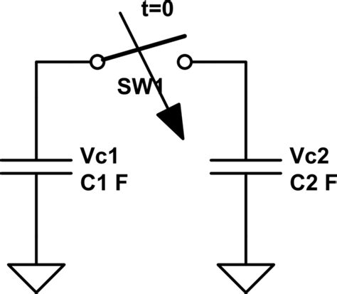 resistance capacitor parallel capacitors in parallel without resistance electrical engineering stack exchange