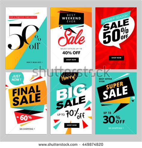 promotional posters templates promotion stock images royalty free images vectors