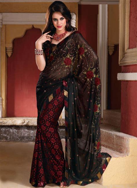 fashion sarees emoo fashion saree fashion 2012 collection