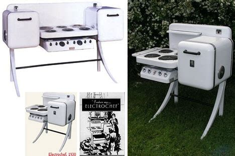 all in one kitchen appliance electrochef all in one vintage kitchen appliance set