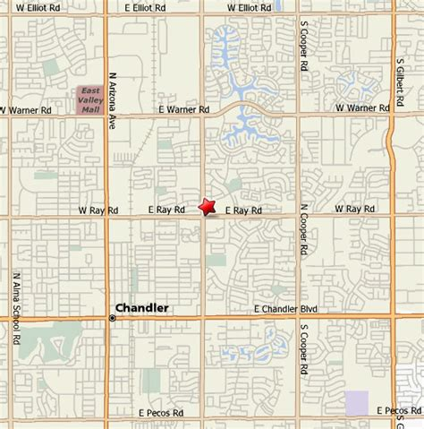 map of chandler arizona chandler eye doctor accepting vsp eyemed avesis and