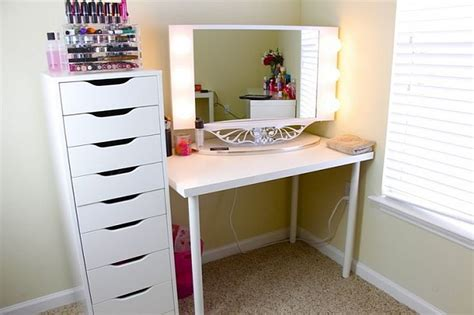 ikea vanity ideas ikea vanity setup linnmon table top paired with alex