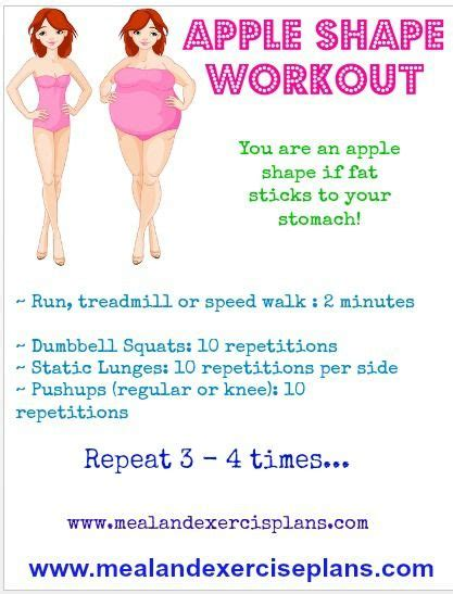 apple shape workout for curvy december s fitness meal and exercise plans