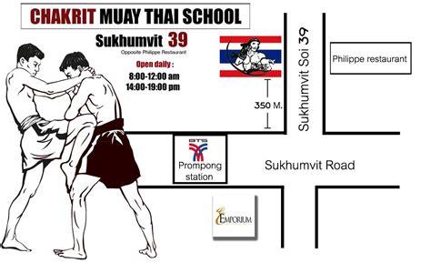 chacrit muay thai school sukhumvit soi 39 bangkok