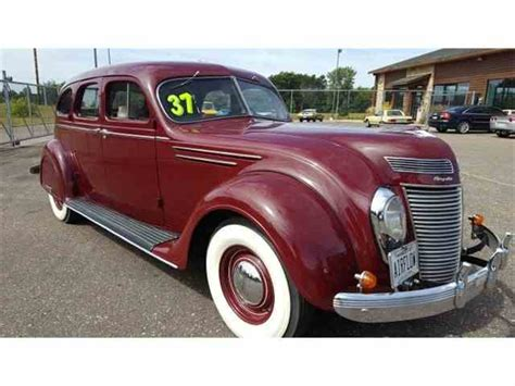 1937 Chrysler Airflow by 1935 To 1937 Chrysler Airflow For Sale On Classiccars
