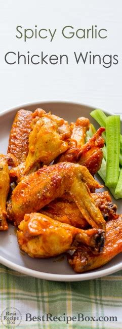 Golden Spicy Wing golden garlic wing sauce recipe