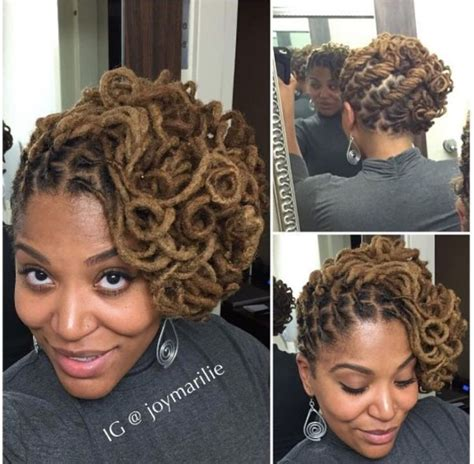 formal updos for locs 1252 best images about loc inspiration on pinterest