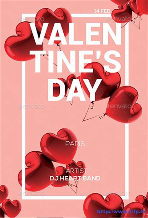 valentines posters 90 best s day flyer templates 2017 frip in