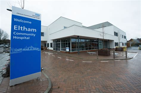 eltham community hospital willmott dixon