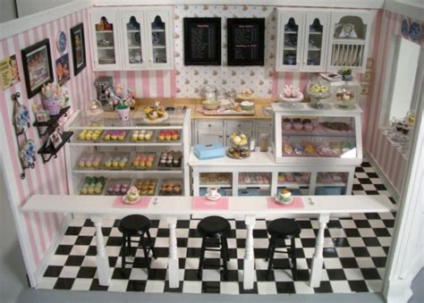 Home Decor Halloween cupcake shop 7 stewart dollhouse creations