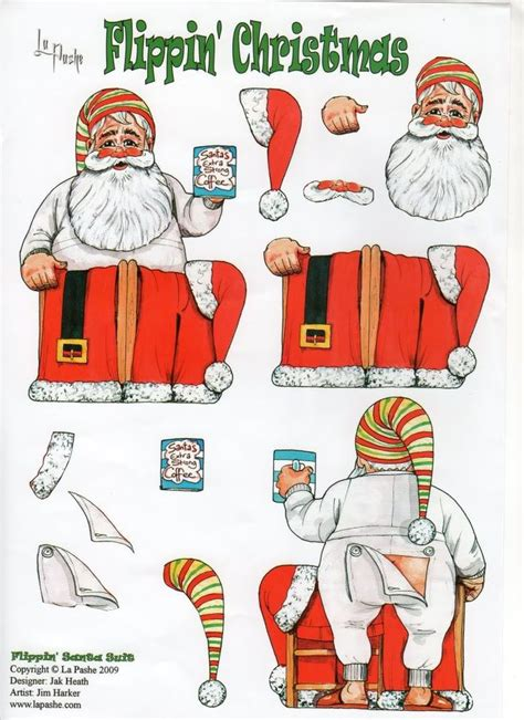 printable christmas card cutouts 89 best la pashe flippin images on pinterest 3d cards