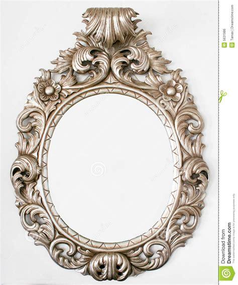 Ornate Vanity Mirror Beautiful Retro Baroque Mirror Royalty Free Stock Image