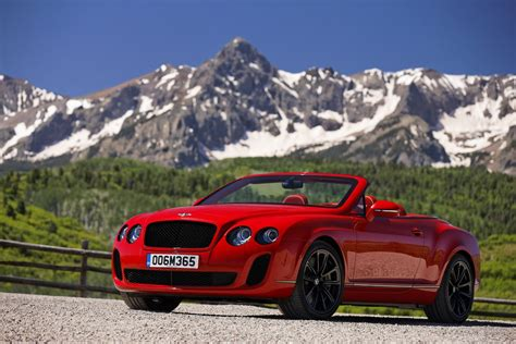bentley convertible red 2011 bentley continental supersports convertible review