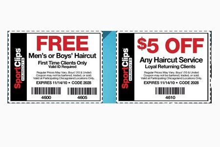 mvp haircuts coupons 6 perfect sports clips free haircut harvardsol com