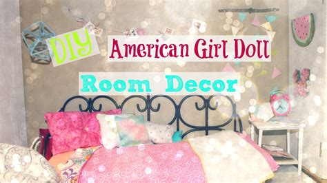 diy room decor for your american girl doll youtube diy american girl doll room decor 2016 youtube