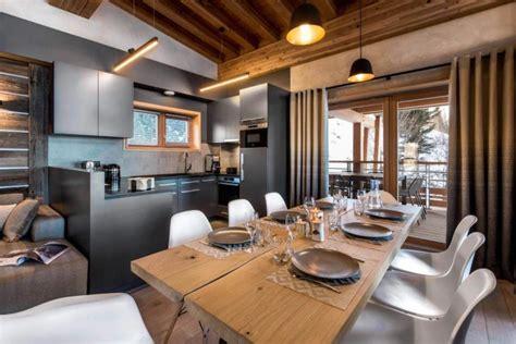 contemporary mountain style apartment  les arcs designed