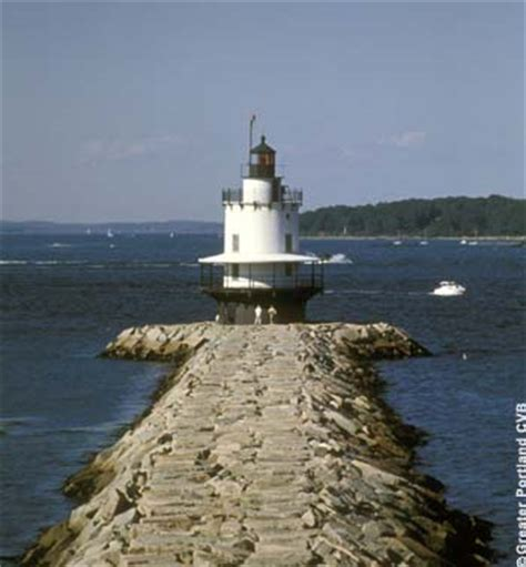 lights are us springs travel explore usa portland maine lighthouses in