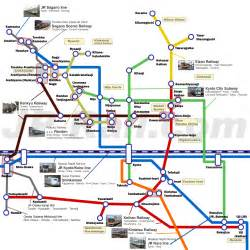 Kyoto Subway Map by Kyoto Japan Rail Pass And Rail Travel In Japan Complete