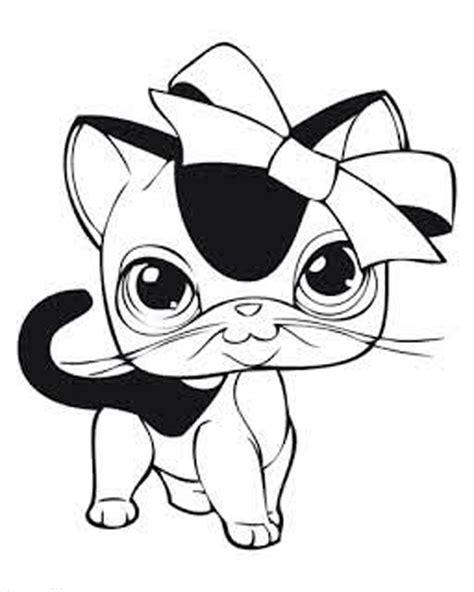 lps cats coloring pages littlest pet shop coloring pages coloringsuite com