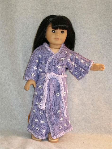 kimono pattern for 18 doll japanese kimono downloadable knitting pattern for any 18