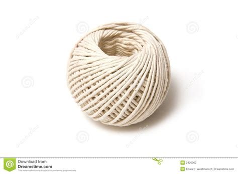 String How To - of white string stock photo image of twine spiraled