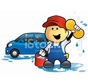 Car Wash Man Stock Vector  FreeImagescom