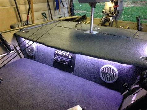 boat sound system ideas lowe jon boat speakers lights lowe custom jon boat