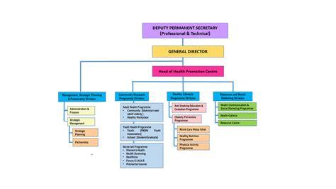 organization pattern of primary health centre health promotion centre organizational structure