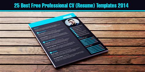 professional cv formats 2014 25 best free professional cv resume templates 2014